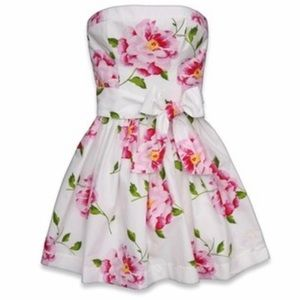 A&F Floral Sundress w/Ribbon Sash 🌸 - FINAL PRICE
